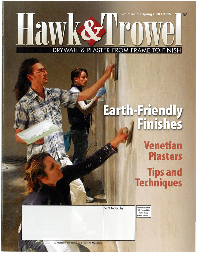 Hawk and Trowel Venetian Plaster Page 1